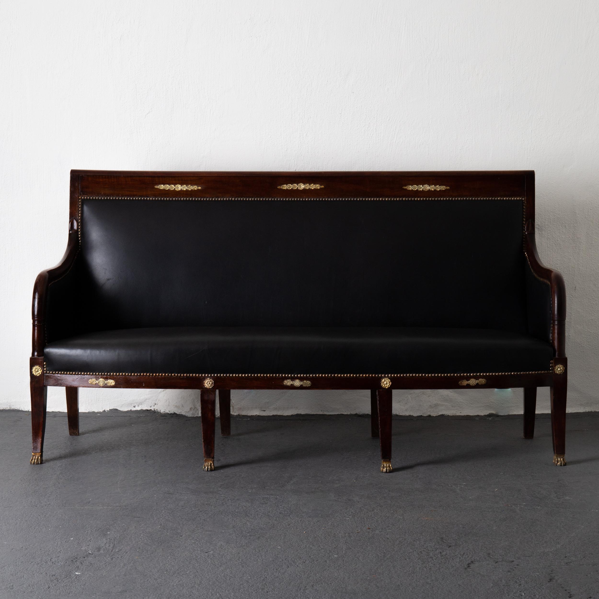 Sofa Empire 1790 1810 France L A S E