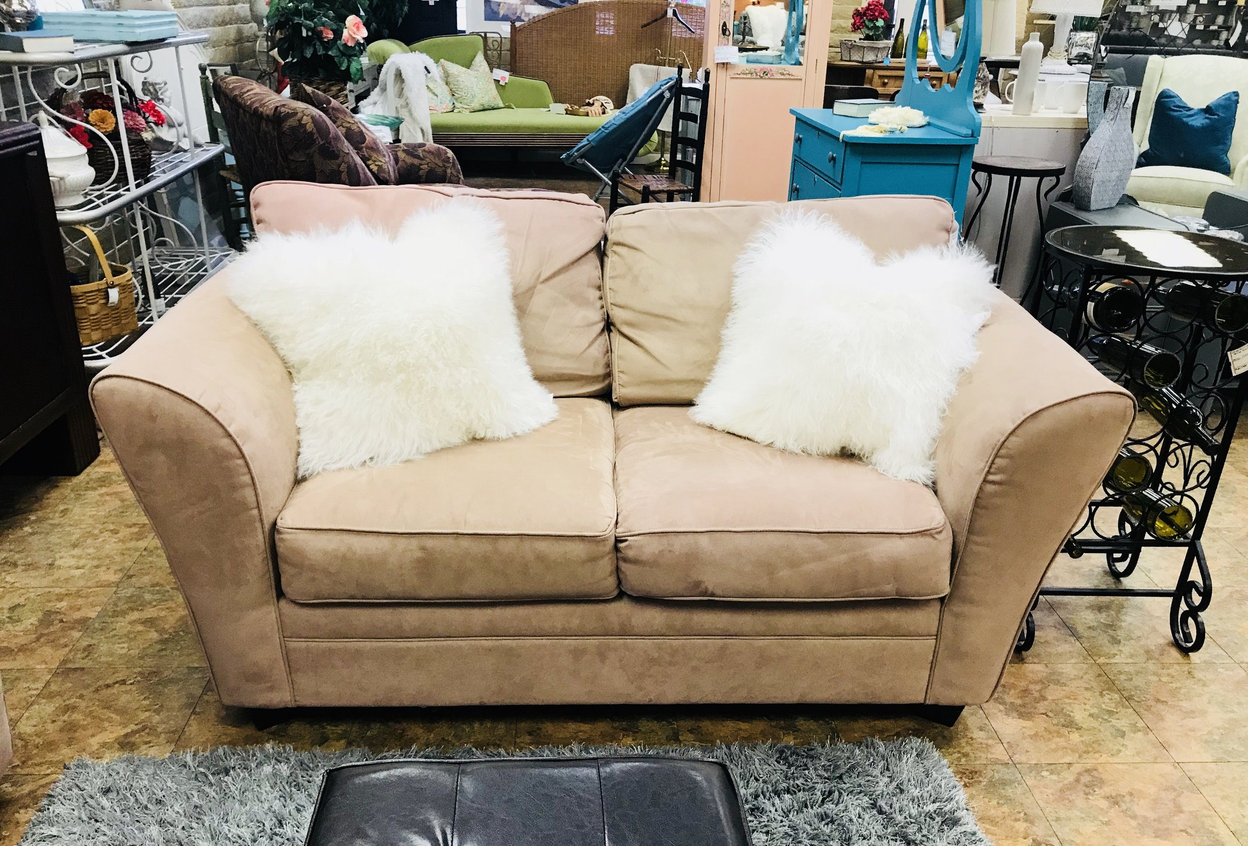 Bauhaus Loveseat Made In Usa Finders Keepers