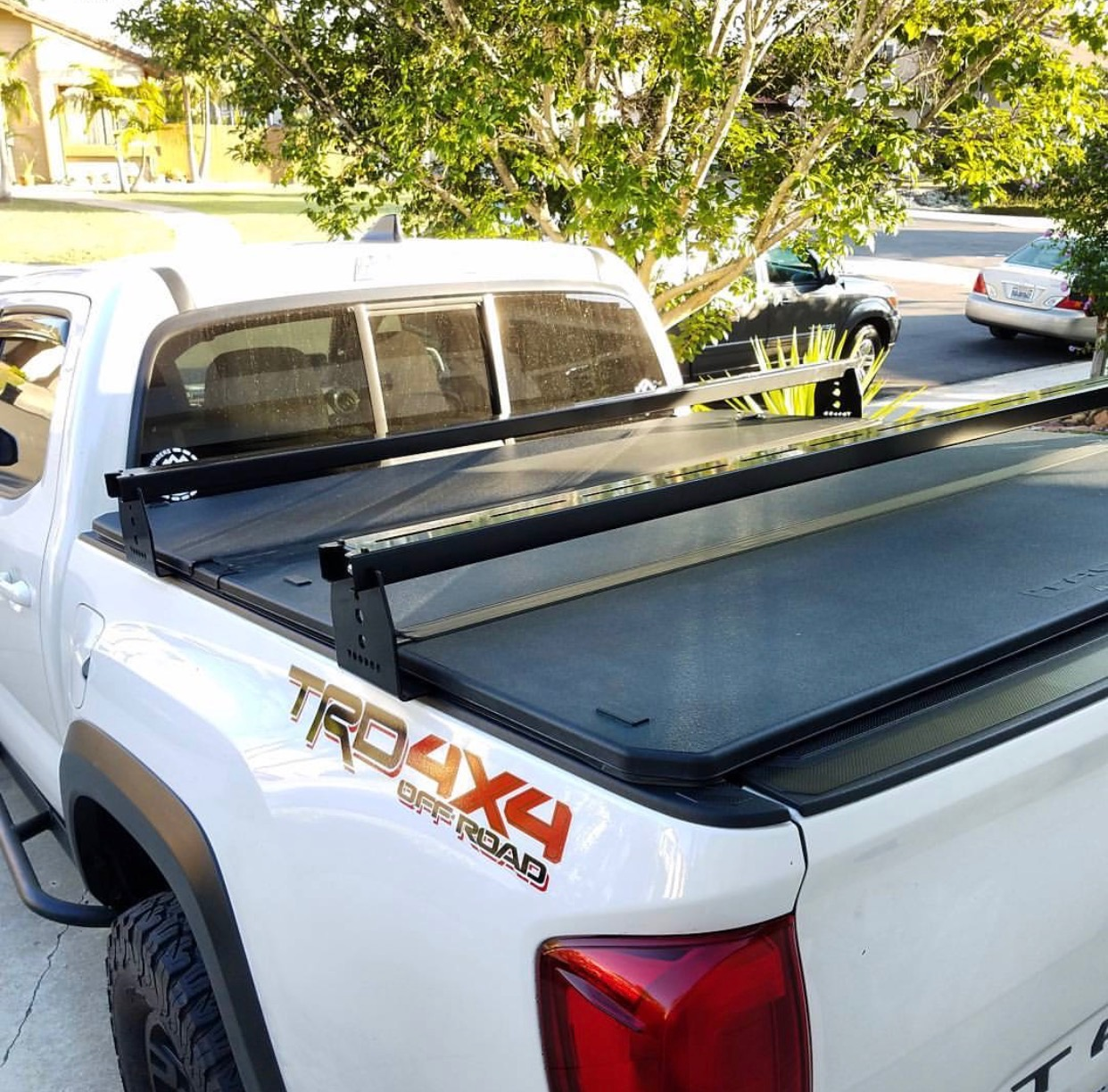 Toyota Tacoma Hi Rise Crossbars For Use With Tonneau Covers Fits