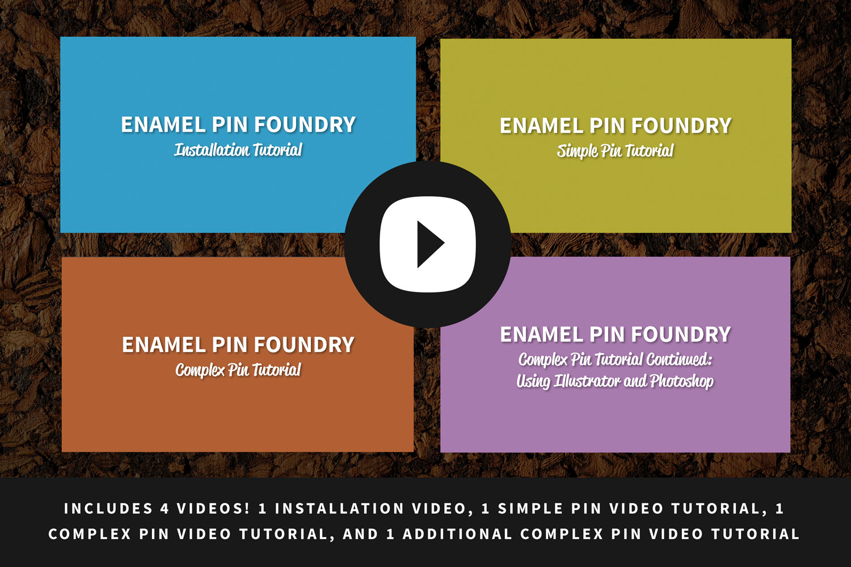 Enamel Pin Foundry — Lauren Hodges | Illustrator & Graphic Designer in  Huntsville, Alabama