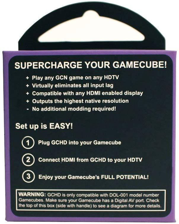 GCHD | Gamecube HDMI Adapter by EON Gaming — Forgotten Freshness Classic  Gaming