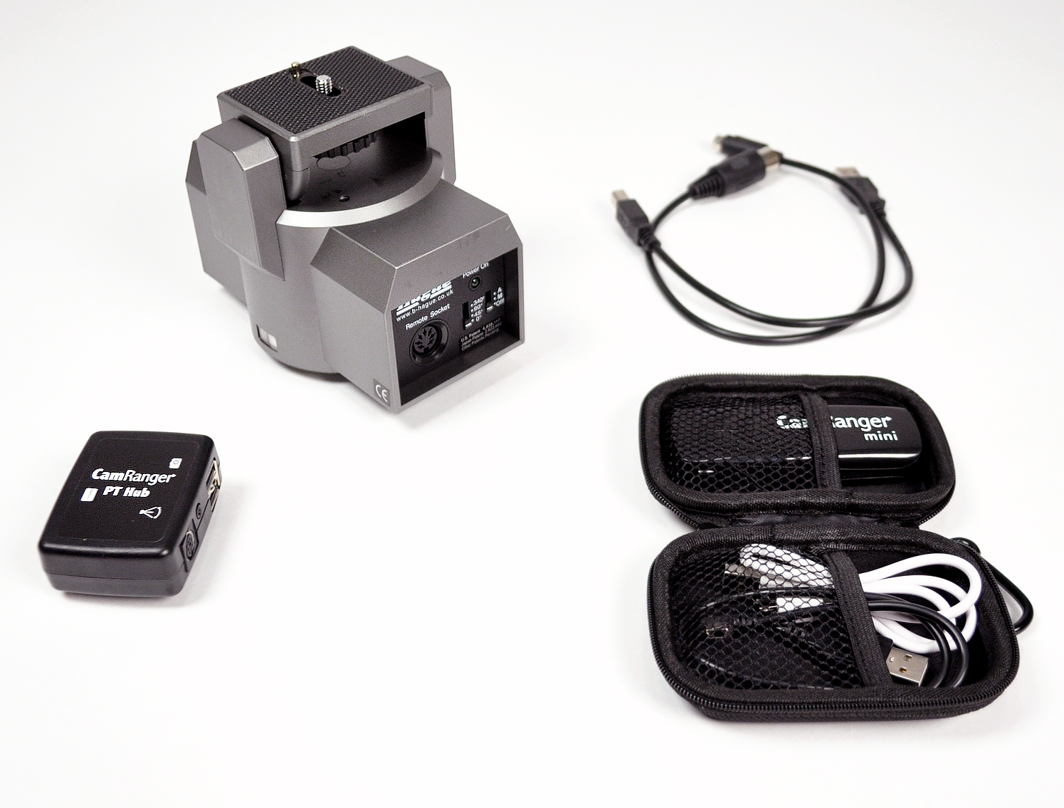 Hague MPCK 360° Powerhead With Camranger Camera Control & PT Hub Control  Kit — Hague Camera Supports