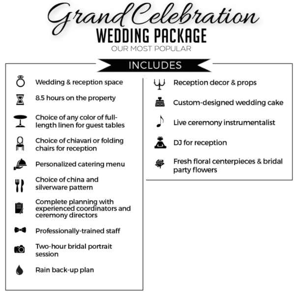 gand-celebration-nashville-婚礼套餐