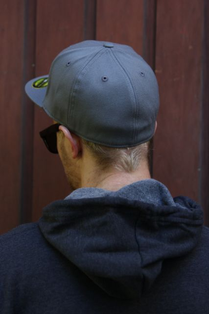 8bc32583d0067 Jake's Flexfit 210 Fitted Hat Charcoal