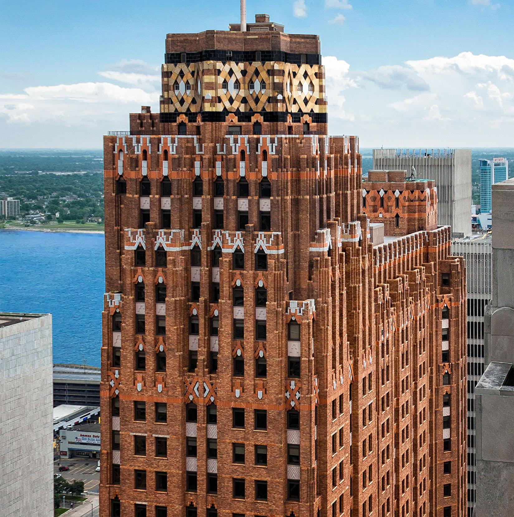 Guardian Building Detroit Art Deco Architecture
