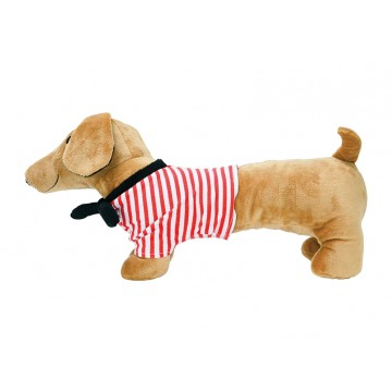 Annabel Trends Sausage Dog Soft Toys Baby Kids Cute Plush Toys 40 x 20cm