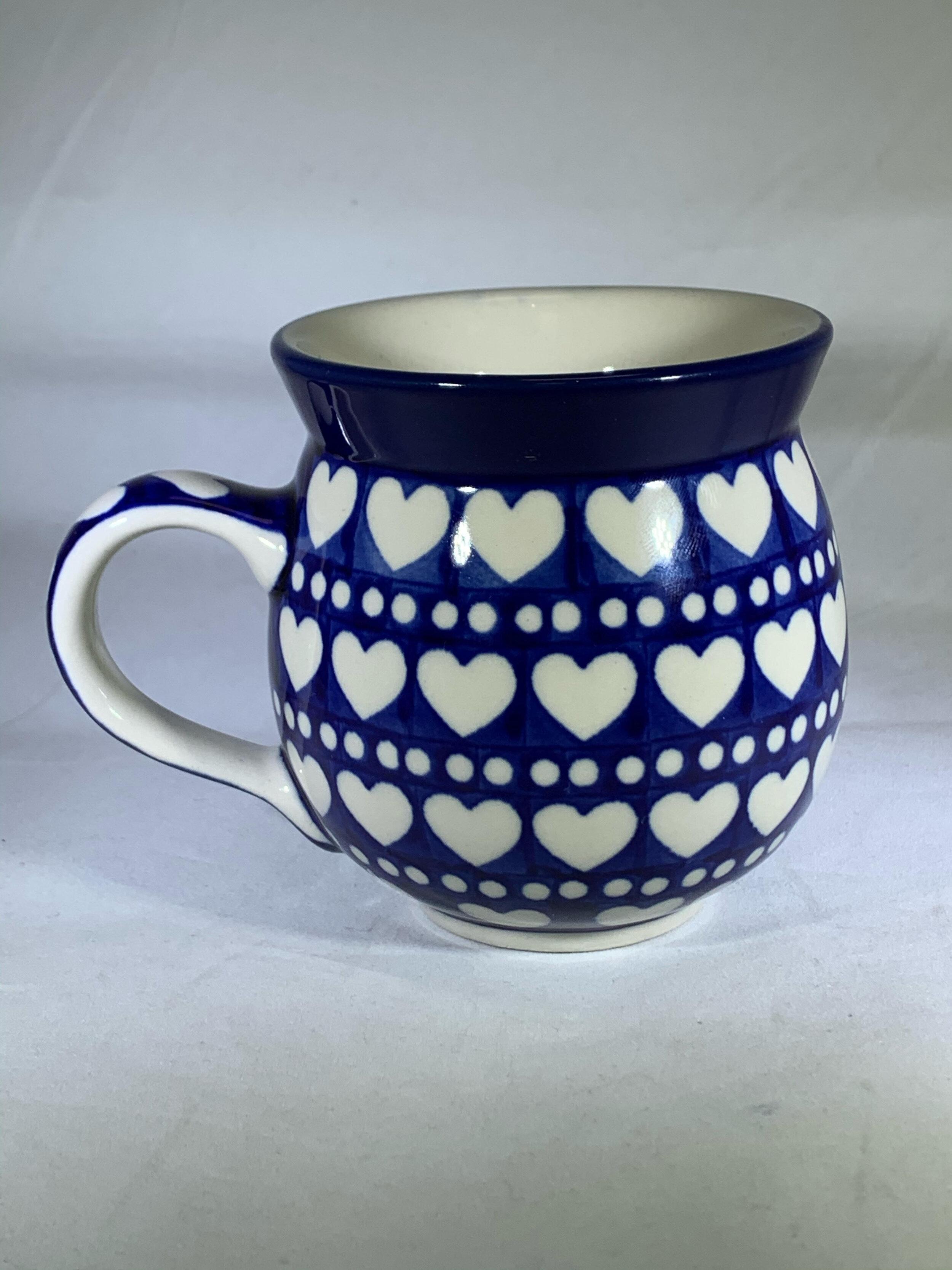 Polish Pottery Mug Simply Polish Pottery