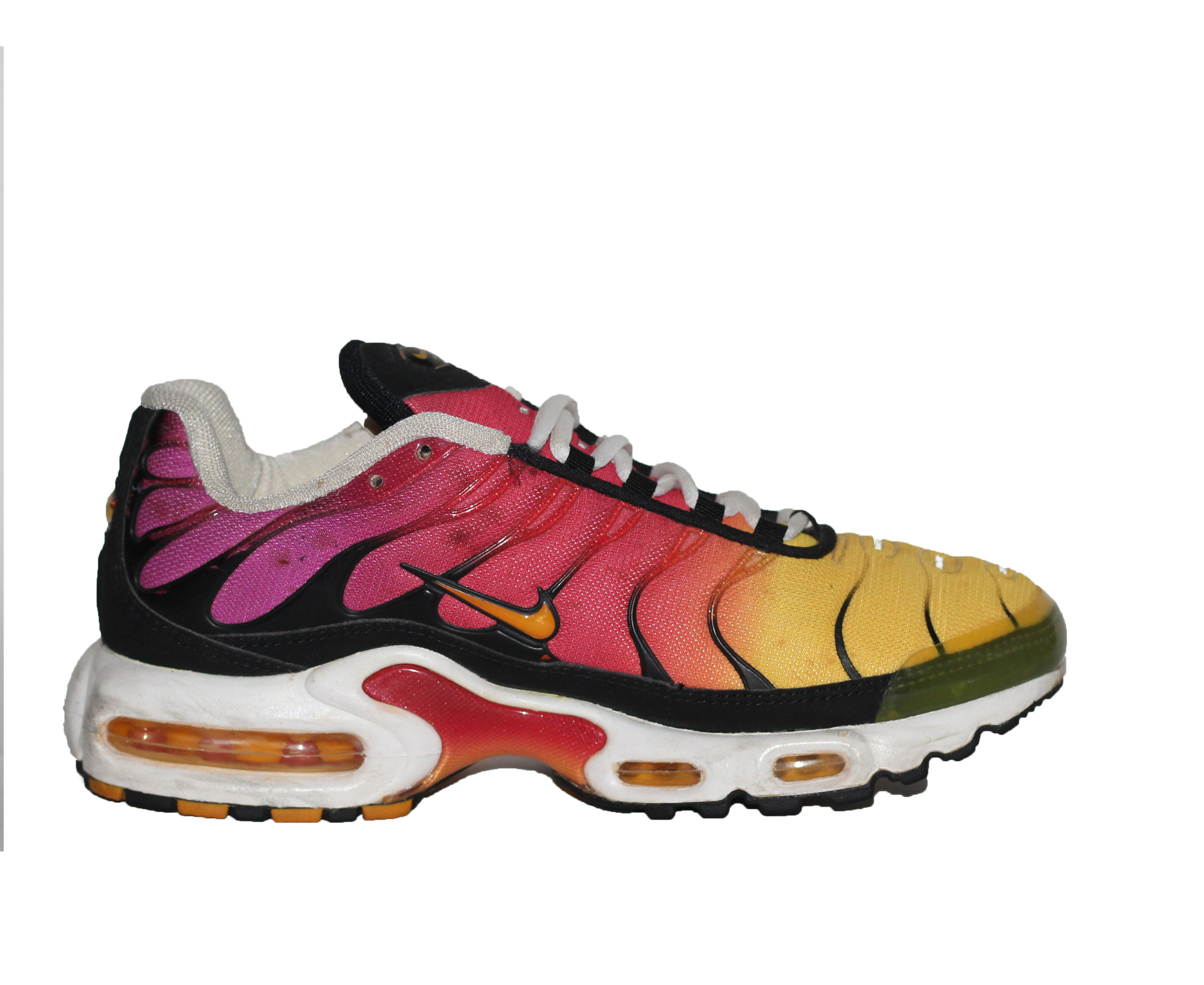 sale retailer 9a08d 5e214 Nike TN Air Max Plus Raspberry / Yellow (Size 8.5 Women`s) Original Release  — Roots