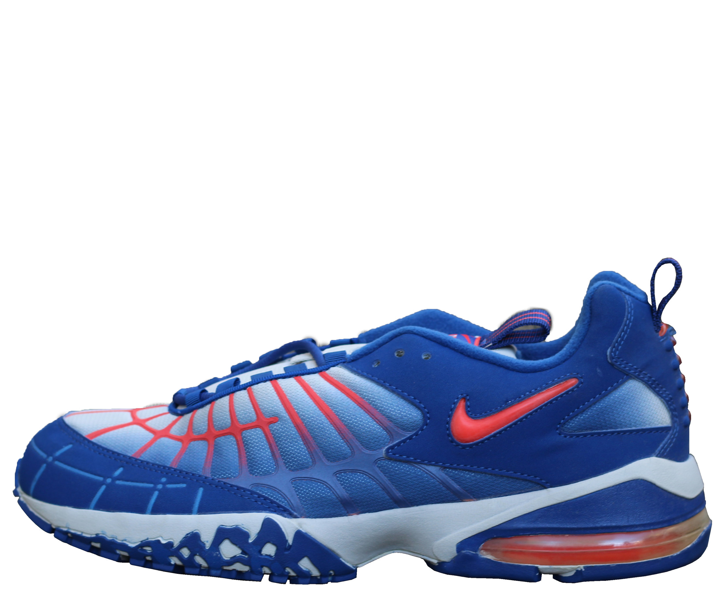 detailed look 6eaa7 a6fc7 Nike Air Max 120 B Atlantic Blue / Orange DS — Roots