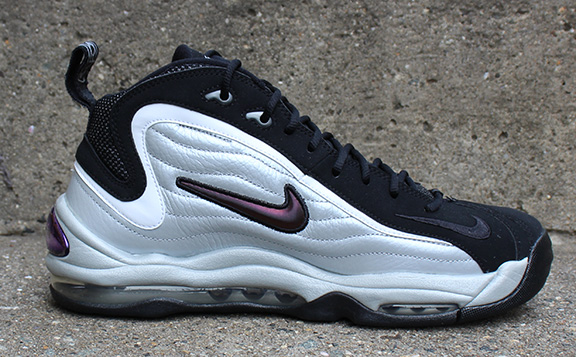 vaquero Emborracharse Inocente  Nike Air Total Max Uptempo Metallic Silver/Black/White DS — Roots