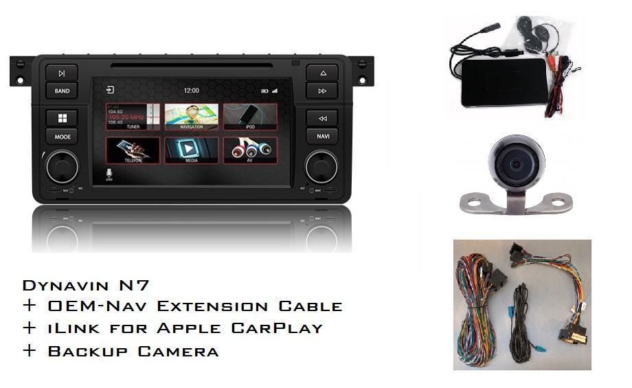 Dynavin N7-E46 Radio Navigation System, for BMW 3 series 1998-2006 — Bimmer  America LLC
