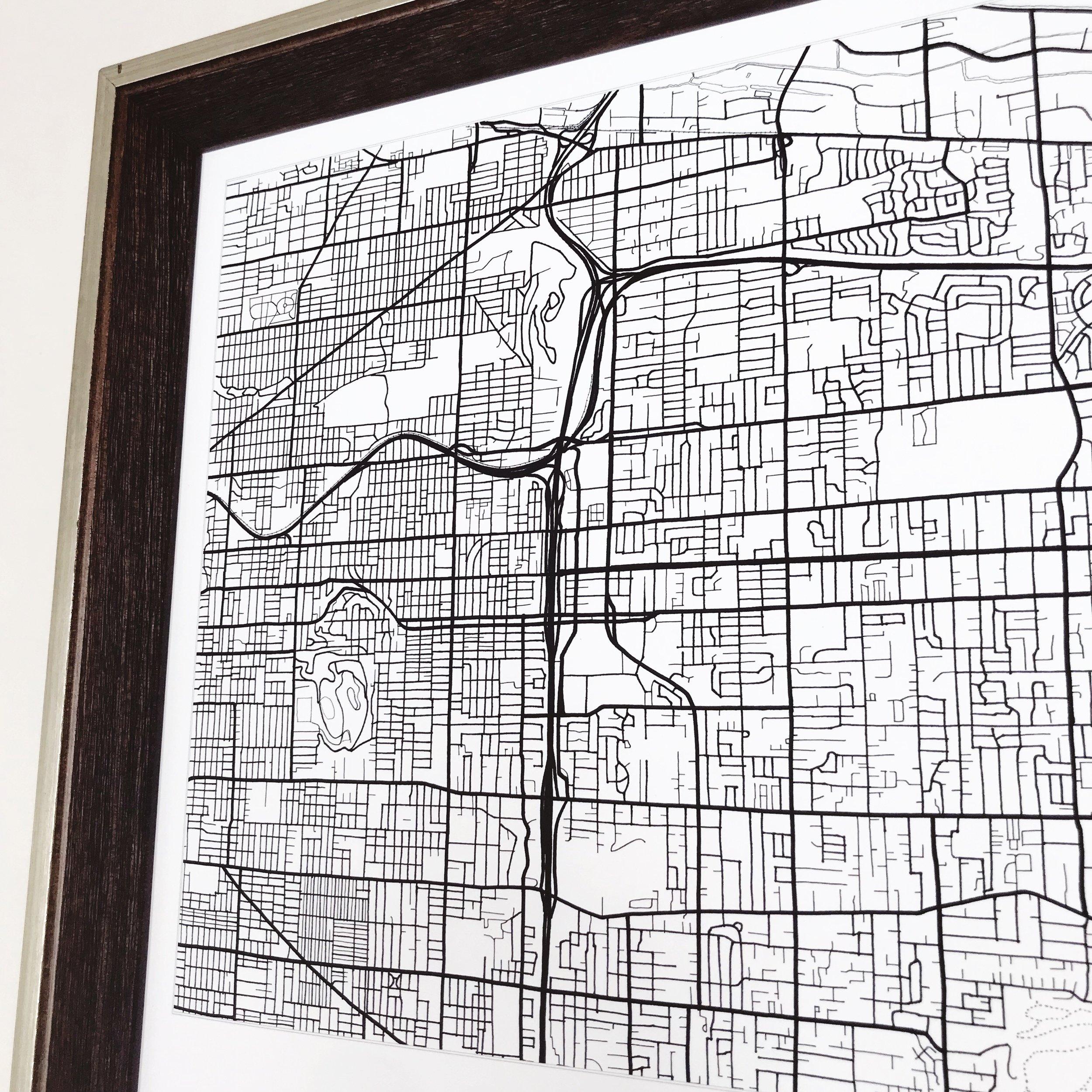 Montavilla neighborhood map