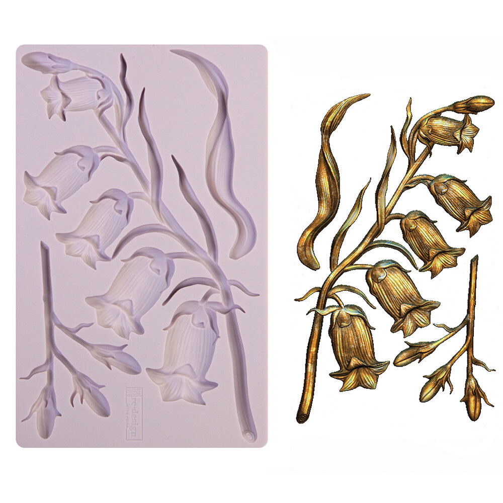 ReDesign with Prima Moulds Mouldes Moldes Heat Resistant Simple Greenery