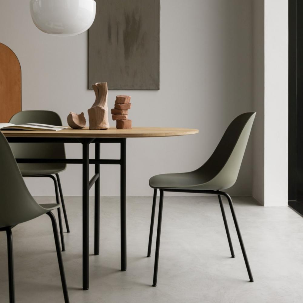 Topform Design Bank.Harbour Side Chair Base In Natural Oak Norden Living