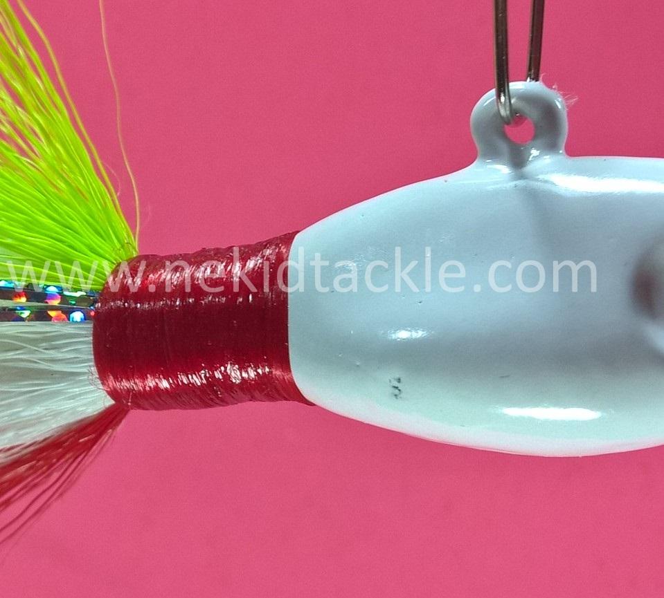 Premium Hand Tied Bucktail Semi-Nekid