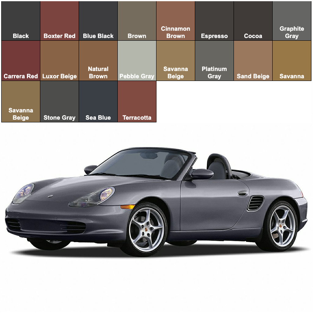 Porsche Boxster Leather Dye Seat Doctors