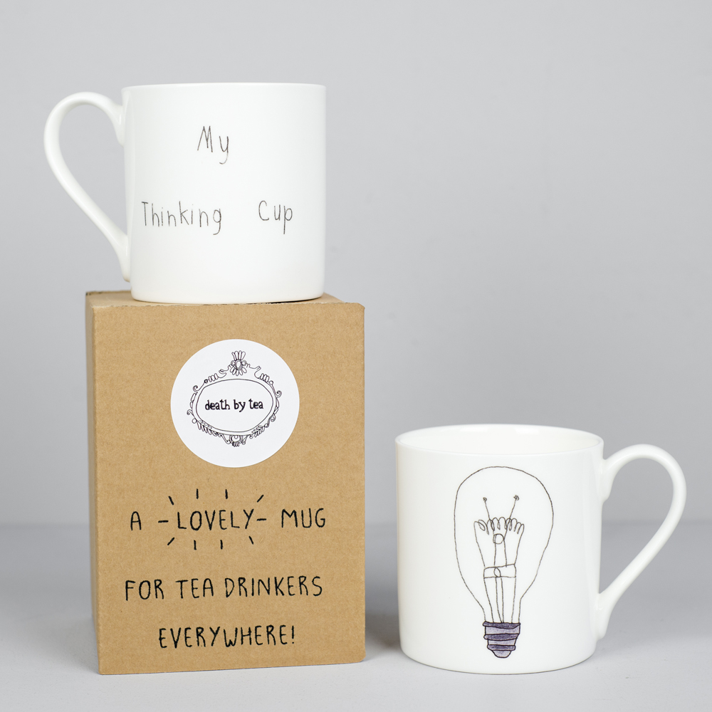 'My Thinking Cup' Mug — deathbytea