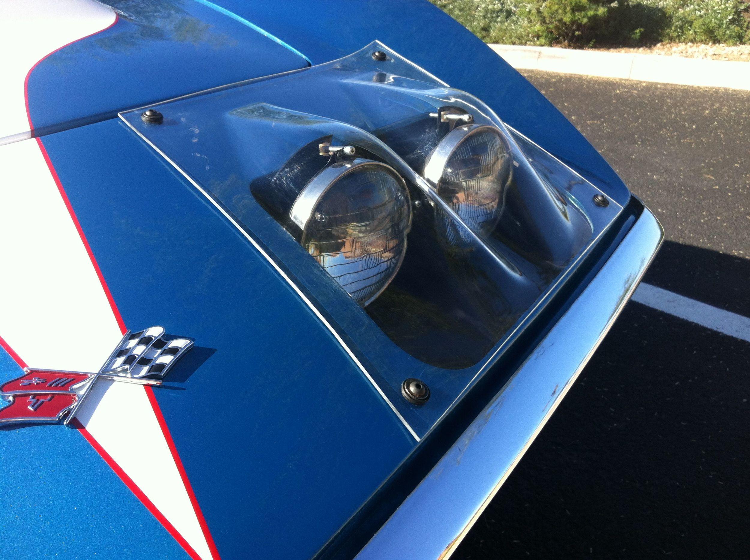 Corvette C3 Fia Racing Headlight Kit Vintage Exotics