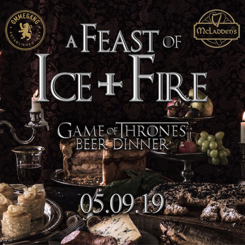 A Feast Of Ice & Fire at Simsbury McLadden's — Bean Restaurant Group