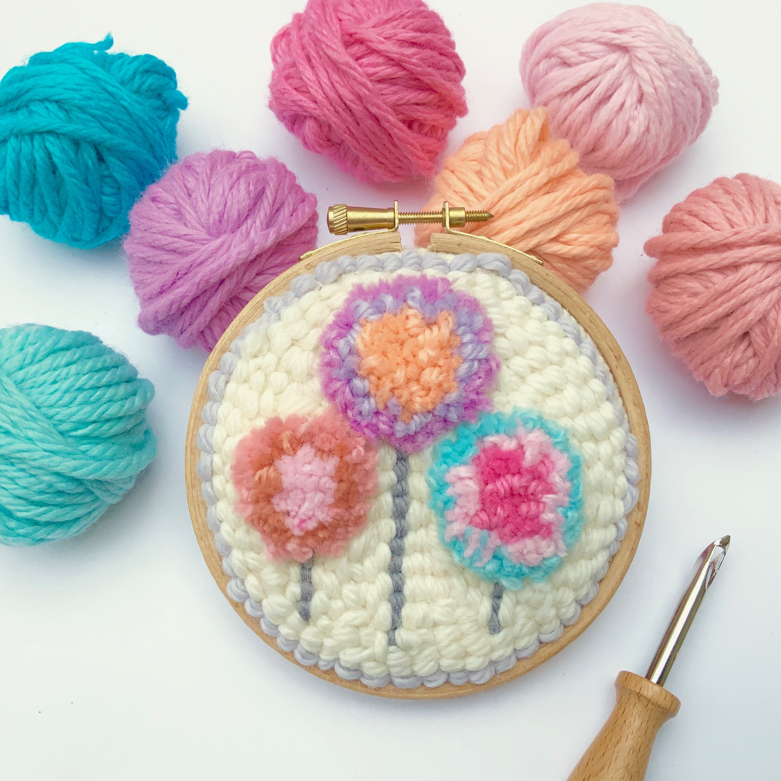Punch Needle Embroidery   Emma Leith