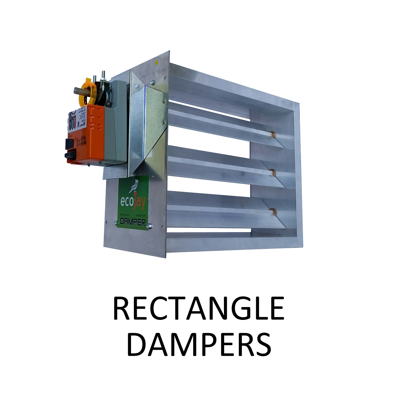 ZoningSupply com - Zone Control - Rectangular HVAC Dampers