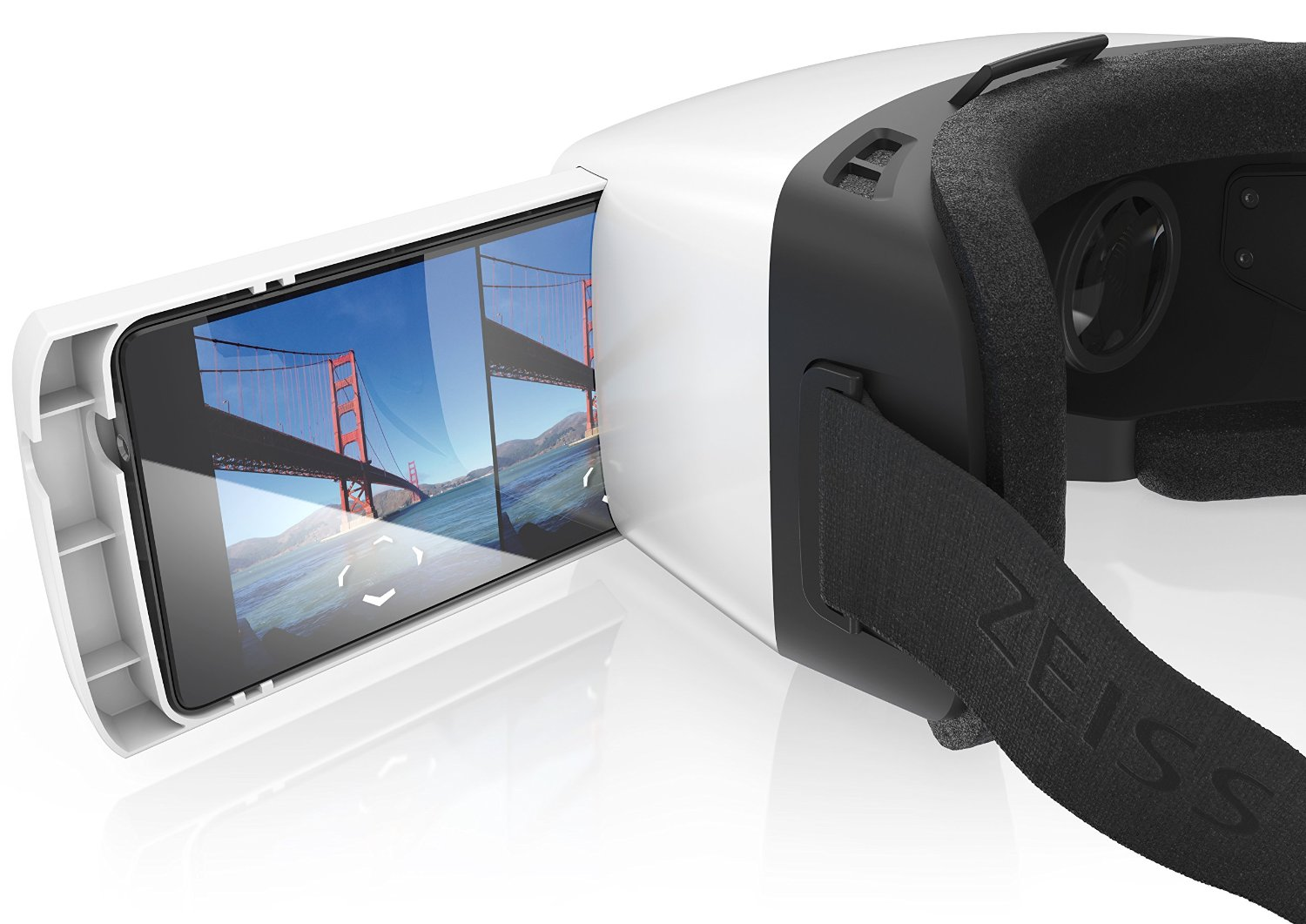 Zeiss Vr One Virtual Reality Headset For Iphone 6 Phone Tray Included Expert Drones