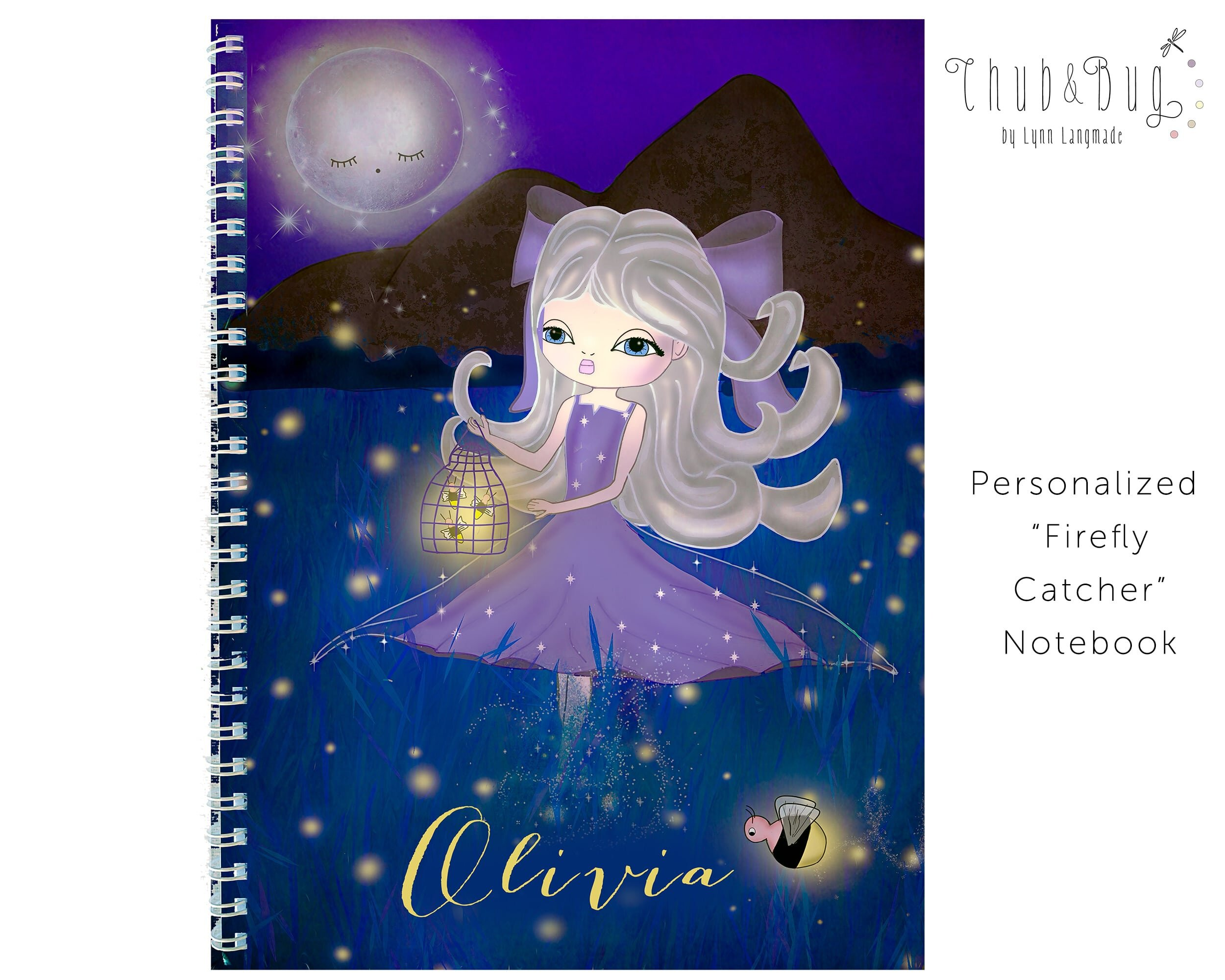 Large Order DISCOUNTS Personalized PURPLE BALLERINA notepad