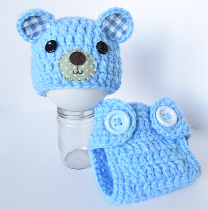 Teddy Bear Set Crochet Pattern   701x700