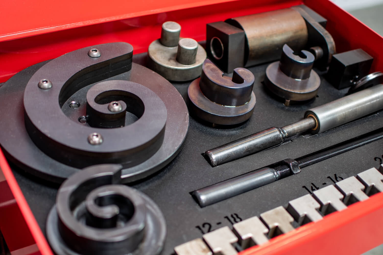 MT150A: Ornamental Bar Twisting and Bending Machine — Quantum Machinery  Group