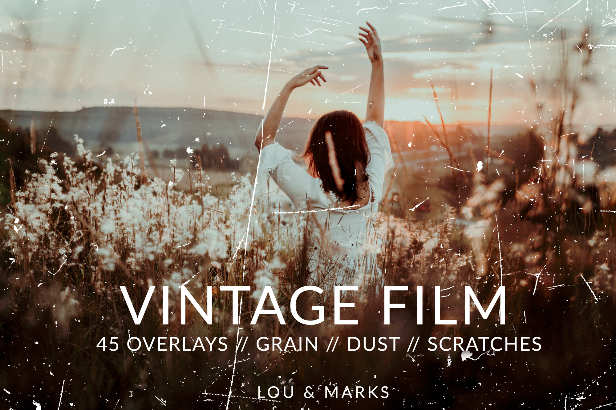 Vintage Film Texture // PS Overlays — LOU & MARKS