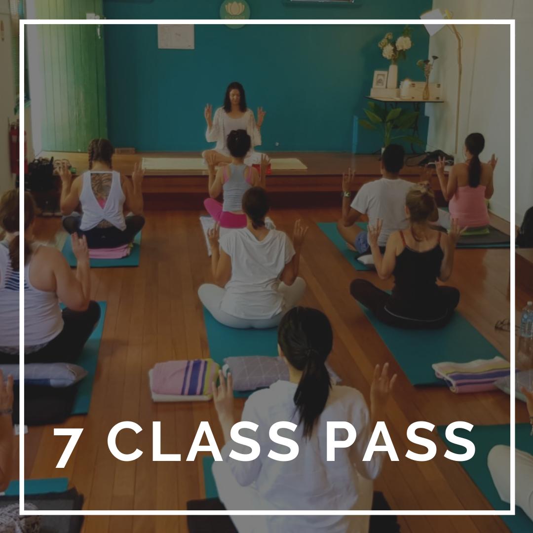 7 Class Pass