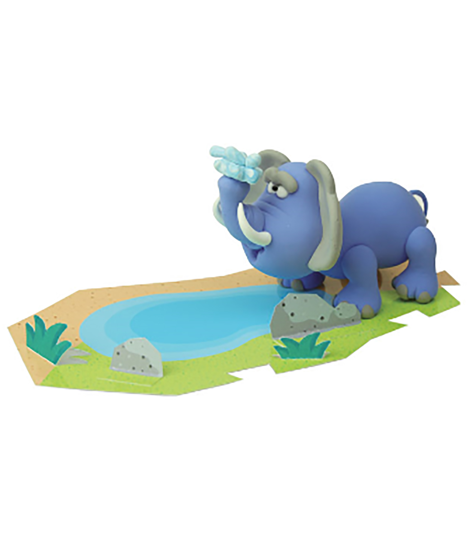 Savanna - Elephant — JumpingClay USA