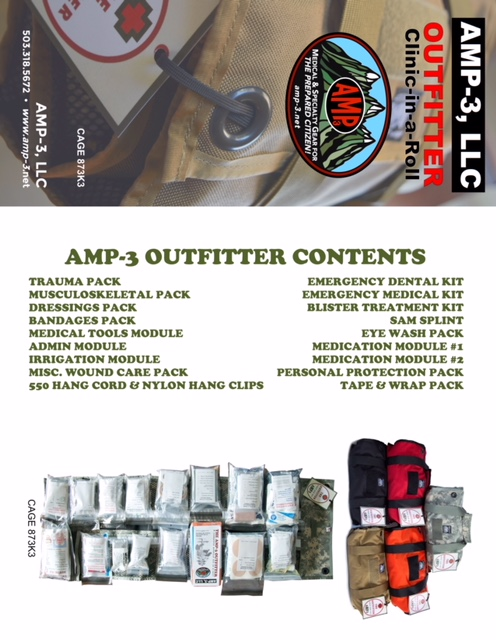 Amp-3 Outfitter — Amp-3 First Aid Kits