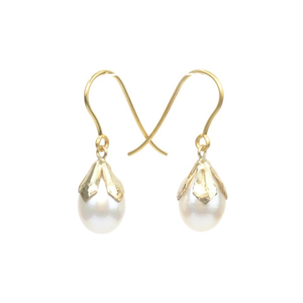 Snowdrop Earrings Silver May