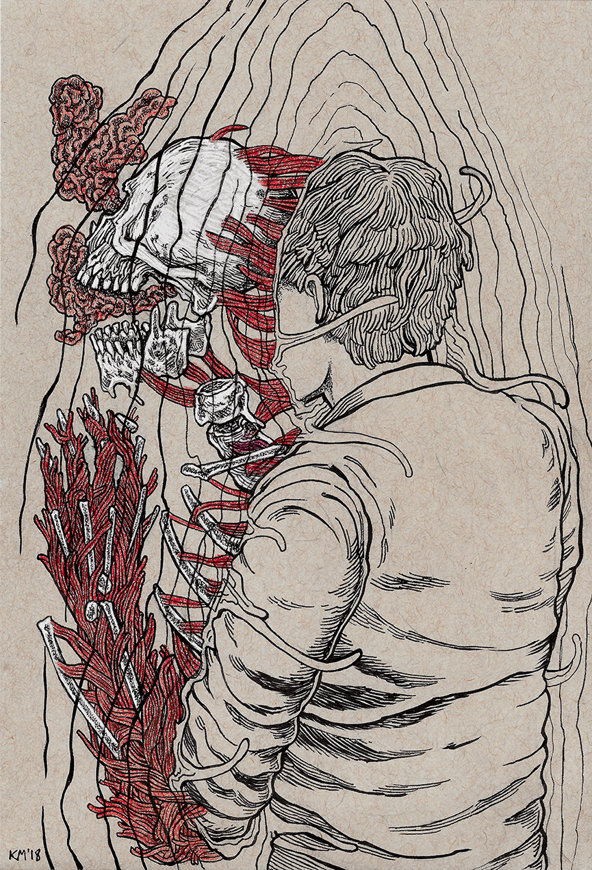 Anxiety Kai Martin Art
