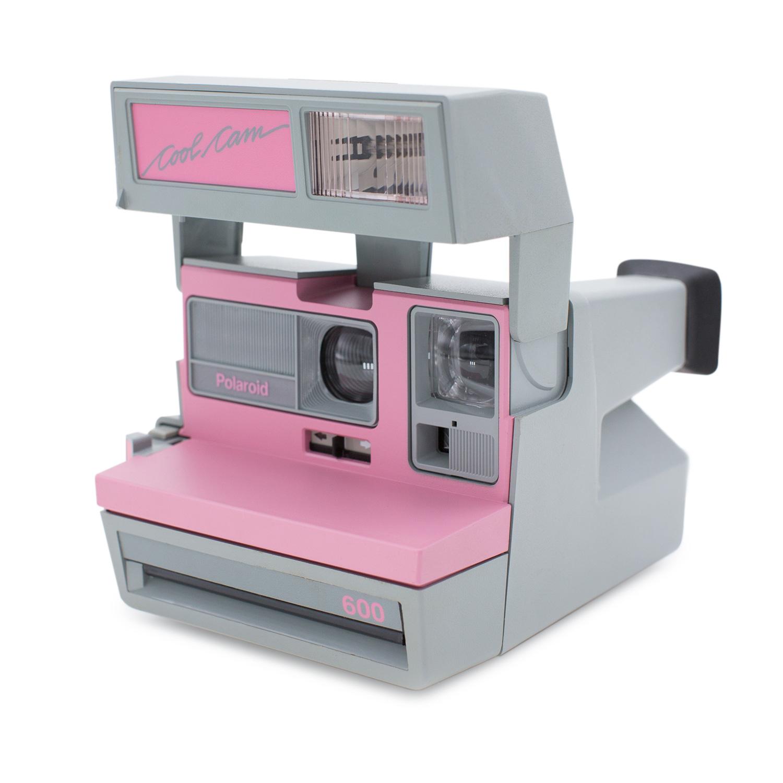 Polaroid 600 : Cool Cam Pink — Brooklyn Film Camera