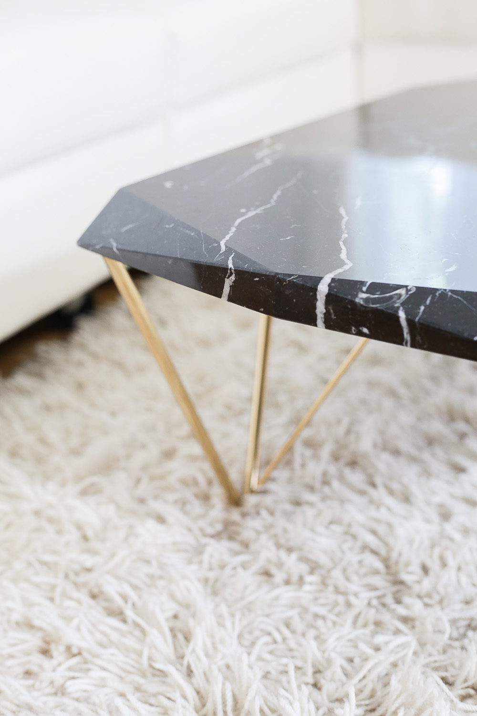 Liquid Marble Coffee Table Exhibition