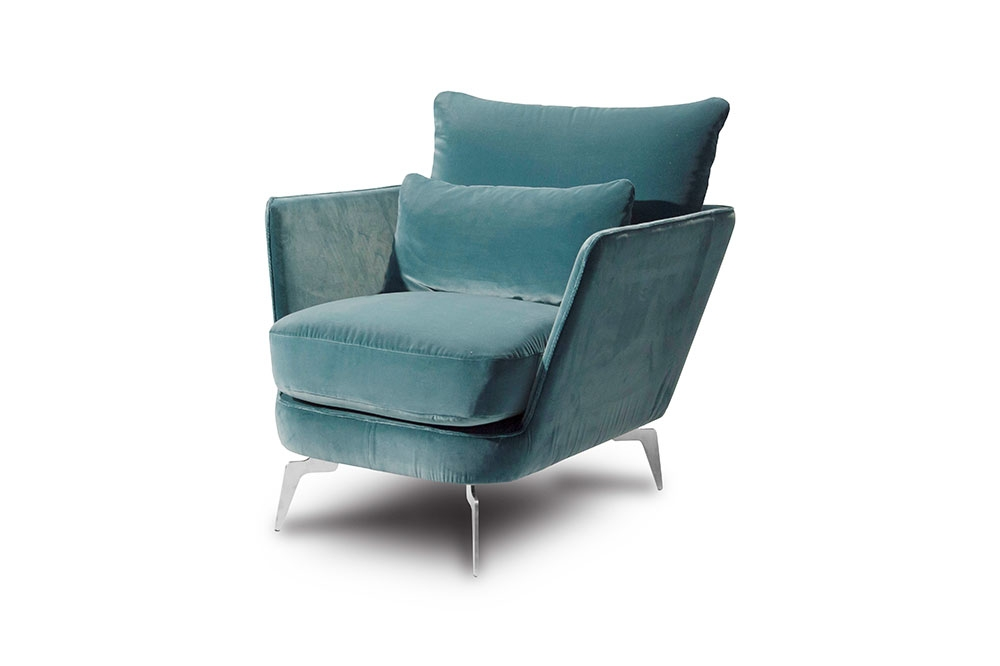 Custom Fabric Accent Chairs.Accent Chair 4543 Ewf Modern