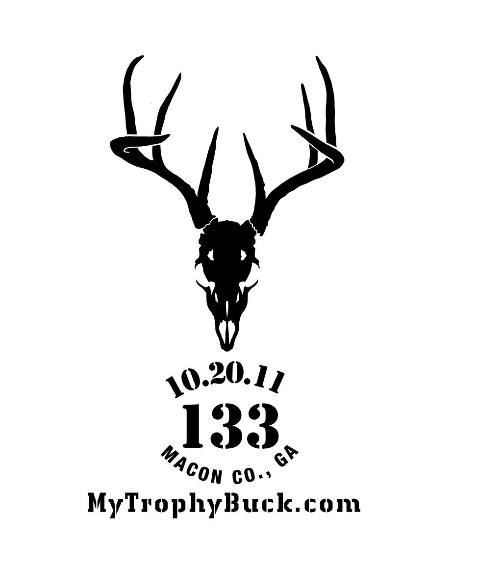 The Skull Logo Design & Window Decal — MyTrophyBuck com