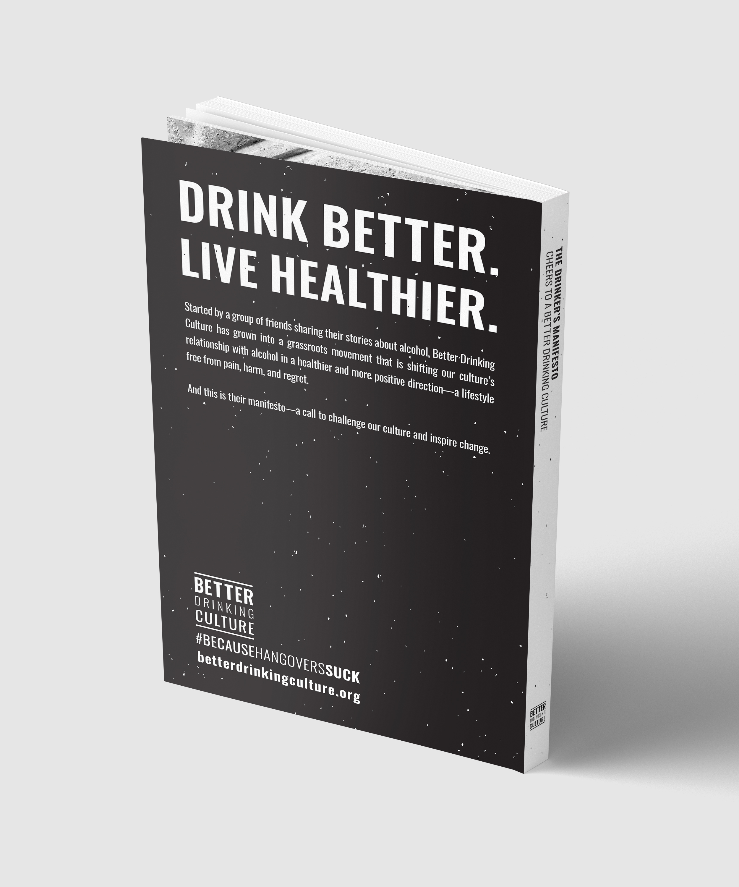 The Drinker's Manifesto — BETTER DRINKING CULTURE