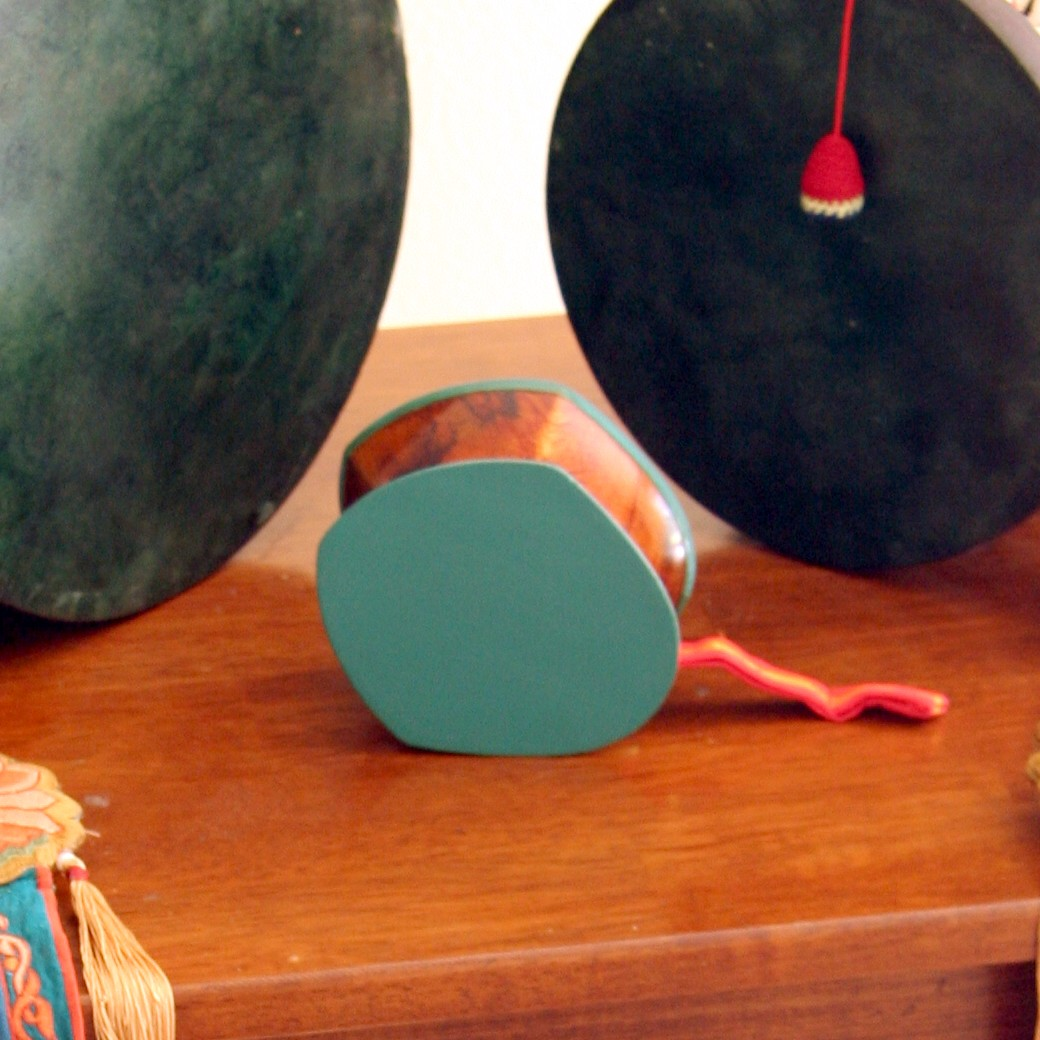 Double-Sided Drum (Damaru) — The Movement Center