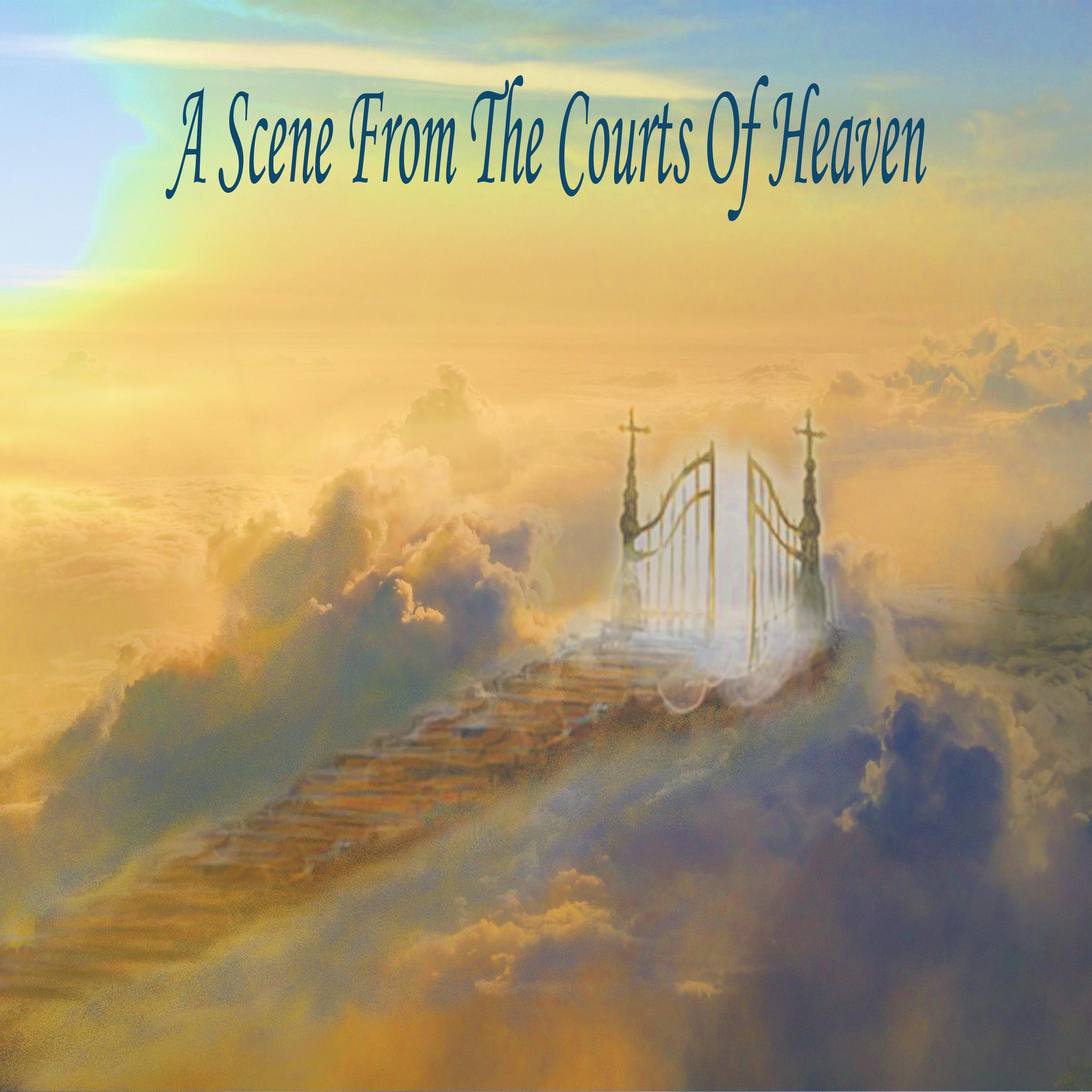 A Scene From The Courts of Heaven (Audio Sermon CD) — Louada Raschke  Ministries