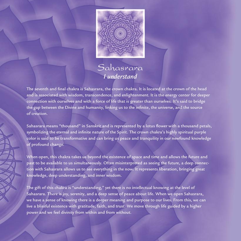 Sahasrara: Crown Chakra Journal — Elan + LeafLet Publishing