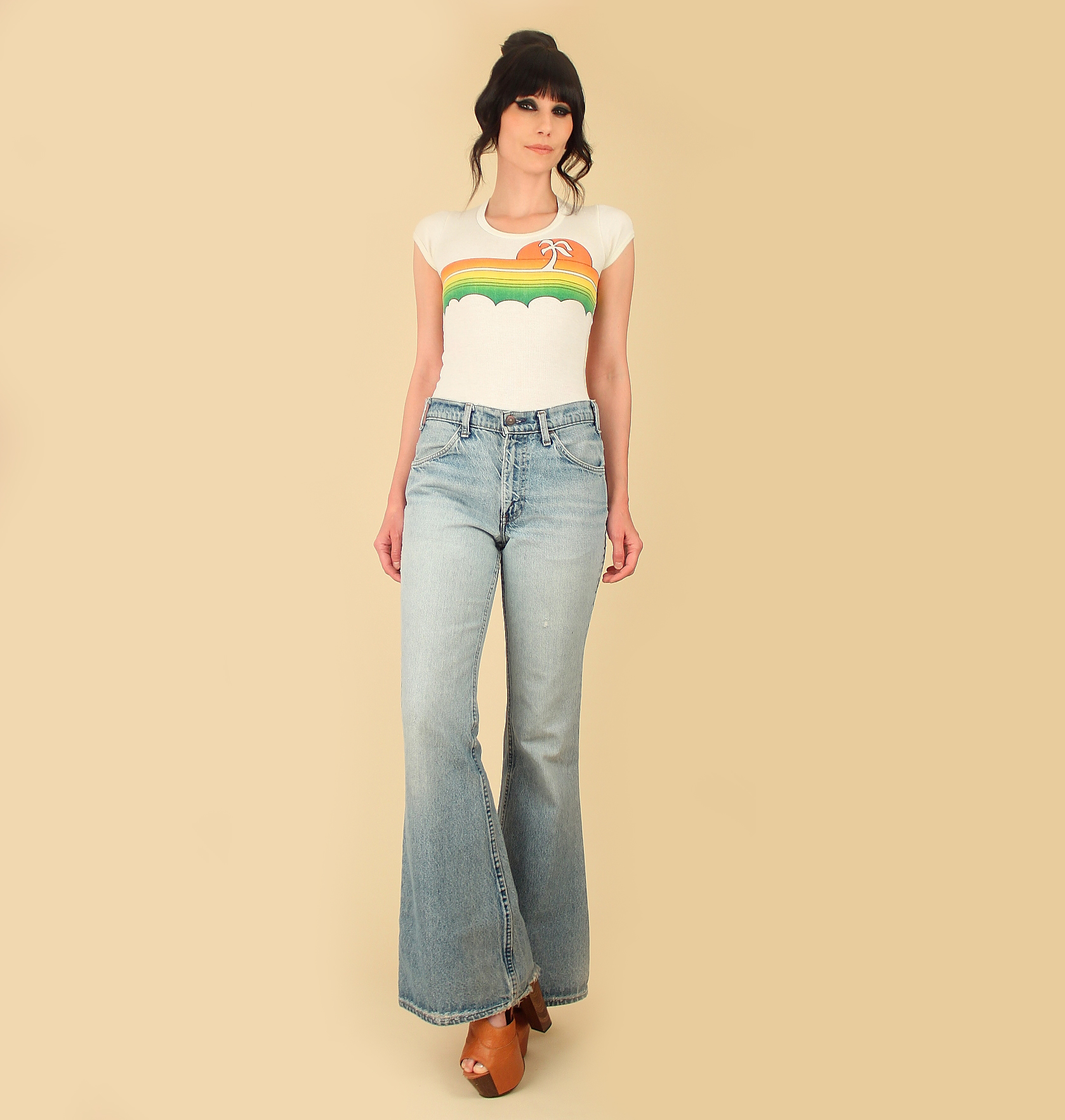 The Best Levi's Frayed Bottom Jeans Pics