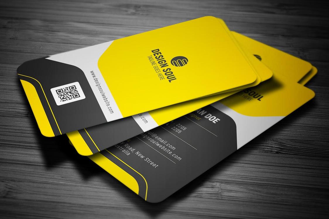 16pt Uv Gloss Business Cards Bleu Pig