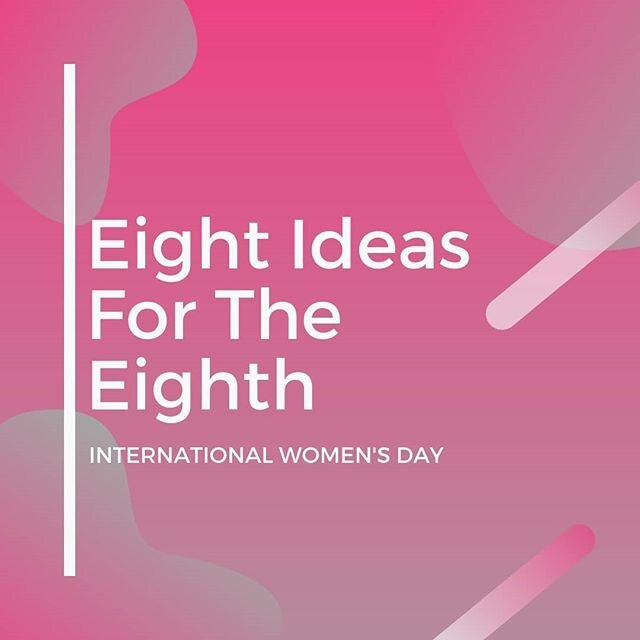 Happy International Women's Day❕ 🎉 💡Here are eight ideas for the eighth and beyond that matters in our #eachtoequal journey. ~ How are you celebrating❔ ~ 🥰Subscribe to our newsletter: The POWERshot and share what you're going to do🙊, and you'll be in the drawing for the book by my friend Kao Kalia Yang.