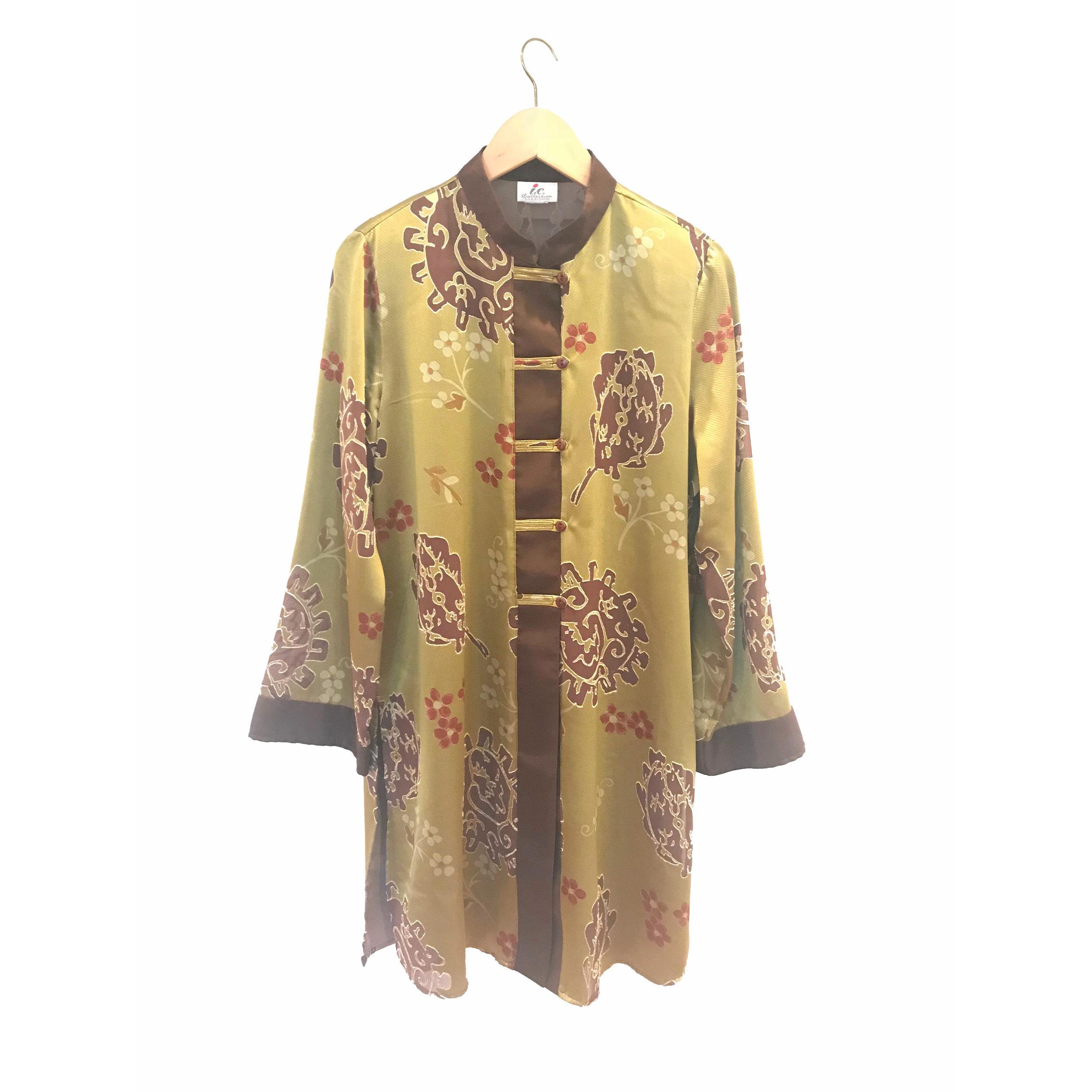 Yoko Ono Green Kimono Future Dawn Designs