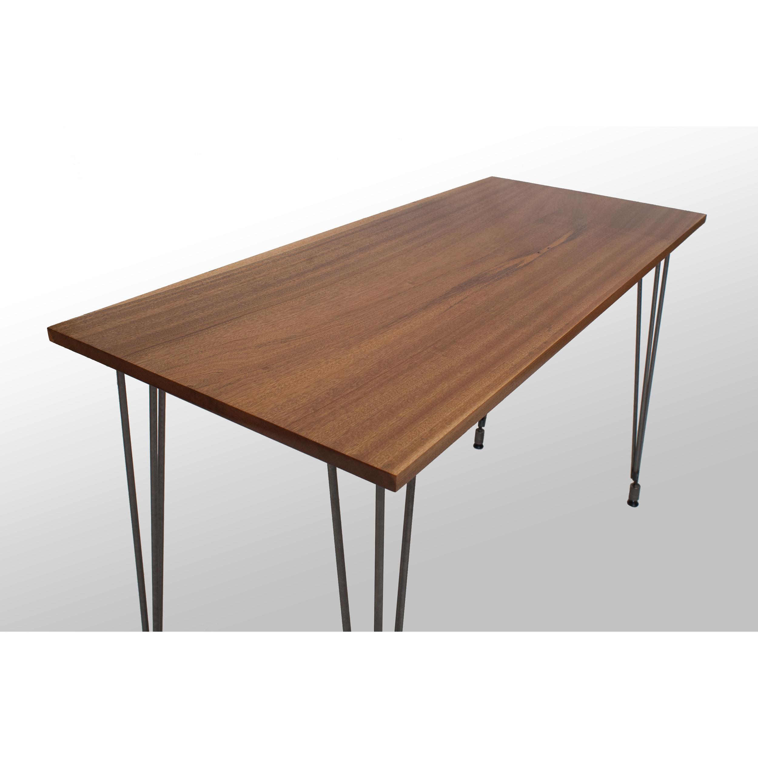 The Heller Desk: Sapele — Grain Control | mid-century modern custom  furniture | Brooklyn NY
