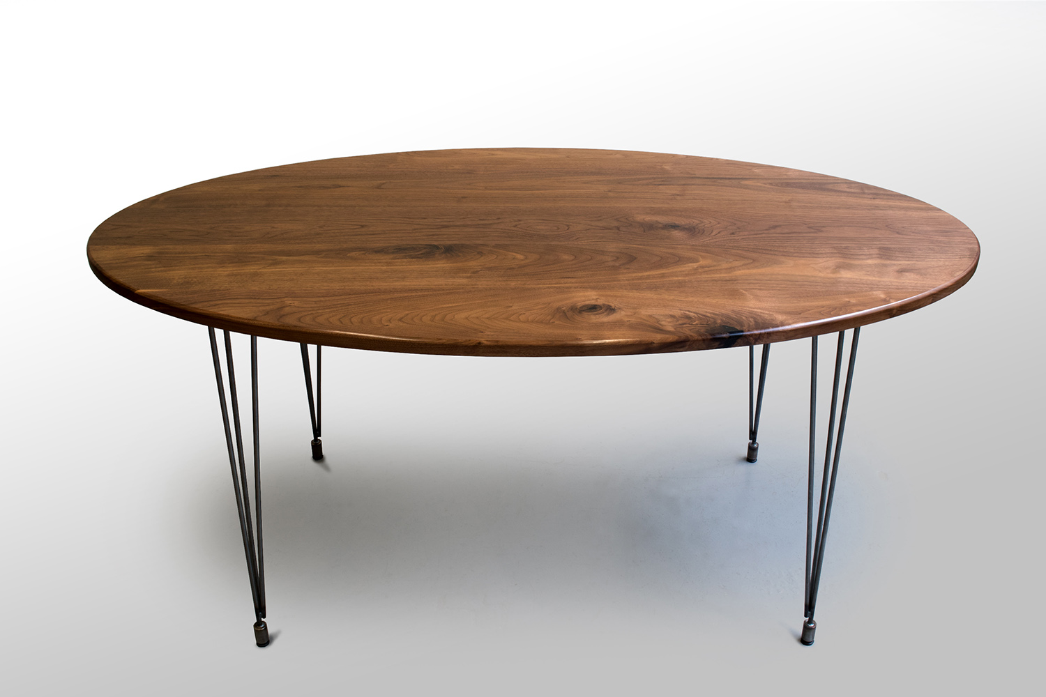 The Percy Kitchen Table: Walnut — Grain Control | mid-century modern custom  furniture | Brooklyn NY