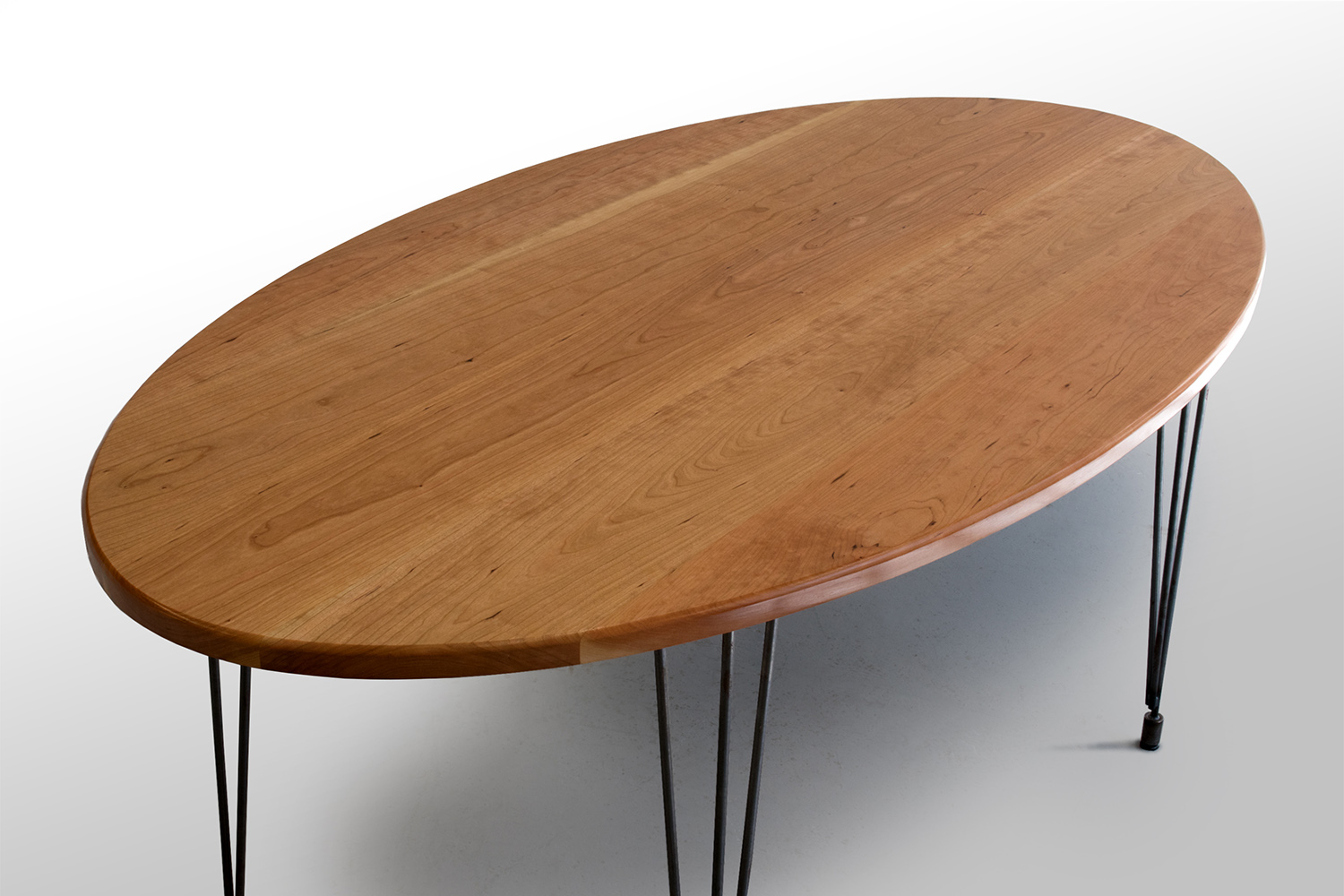 The Percy Kitchen Table: Cherry — Grain Control | mid-century modern custom  furniture | Brooklyn NY